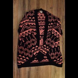 Kirra | Tribal Print Sweater Cardigan